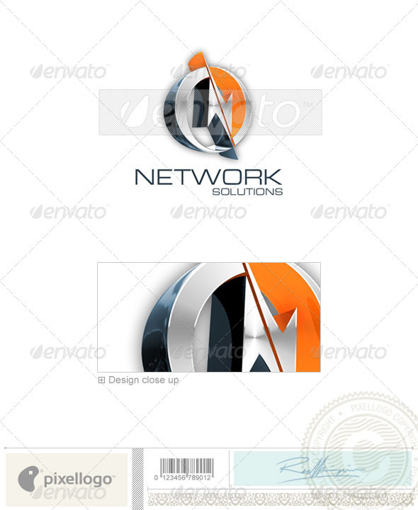 Technology Logo - 3D-81 - Letters Logo Templates