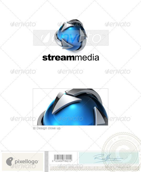 Technology Logo - 3D-715