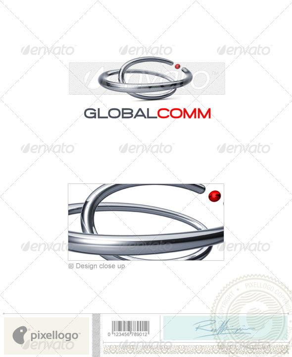 Communications Logo - 3D-677 - 3d Abstract