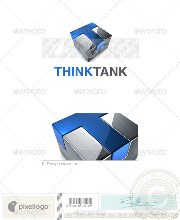 Technology Logo - 3D-695