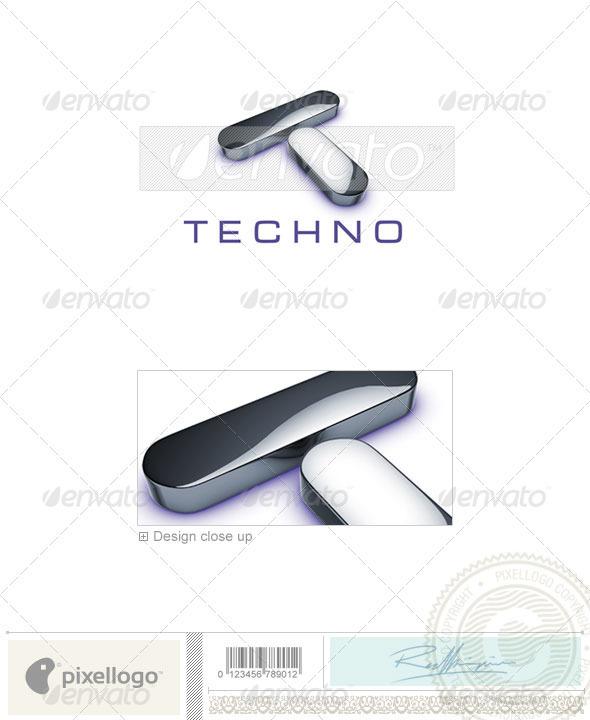 Technology Logo - 3D-690