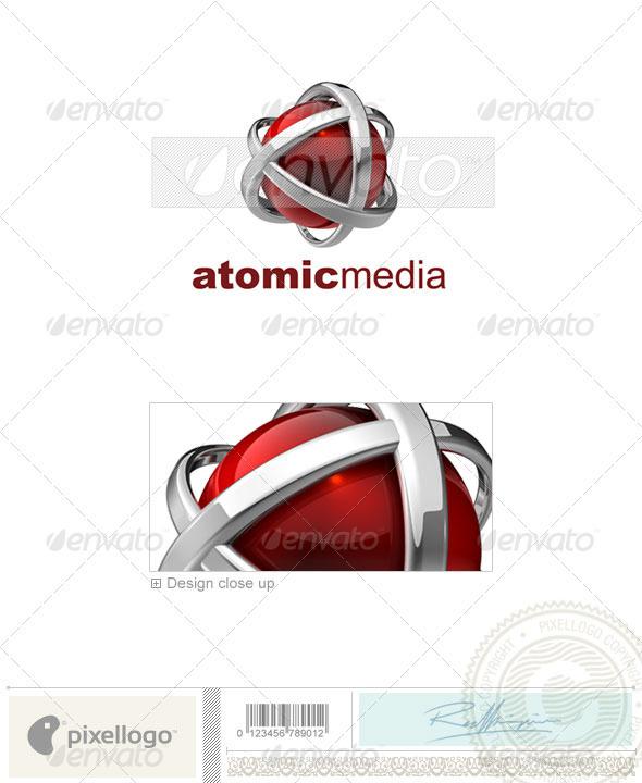 Technology Logo - 3D-546