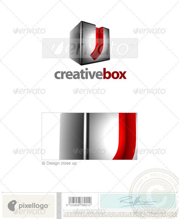 J Logo 3d Logo - 3D-554-J...