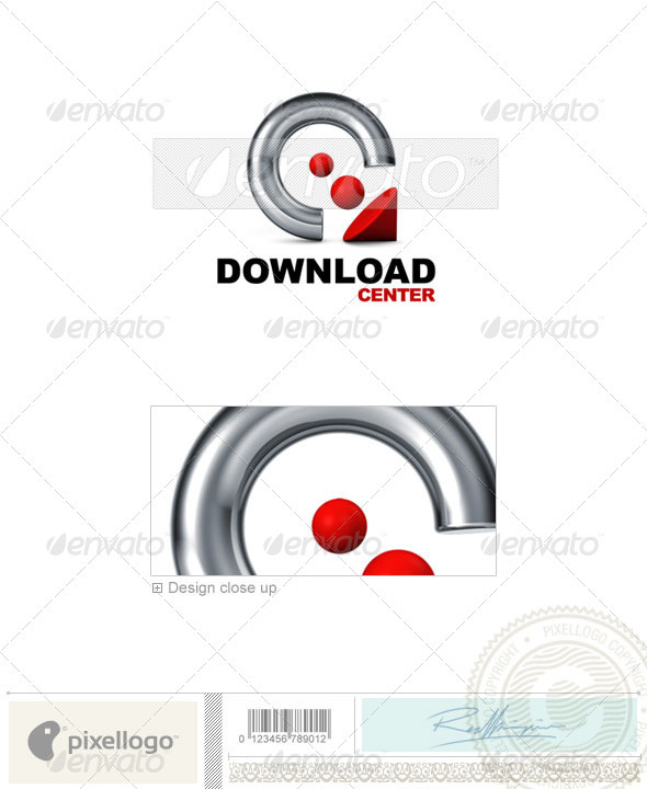 Technology Logo - 3D-540