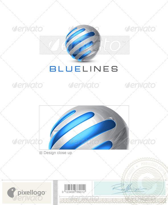 Technology Logo - 3D-706