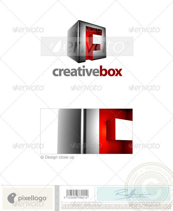 GraphicRiver F Logo 3D-554-F 524661