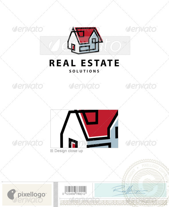 Real Estate Logo - 2262 - Buildings Logo Templates