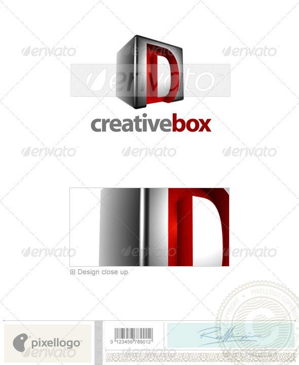 D Logo 3D-554-D