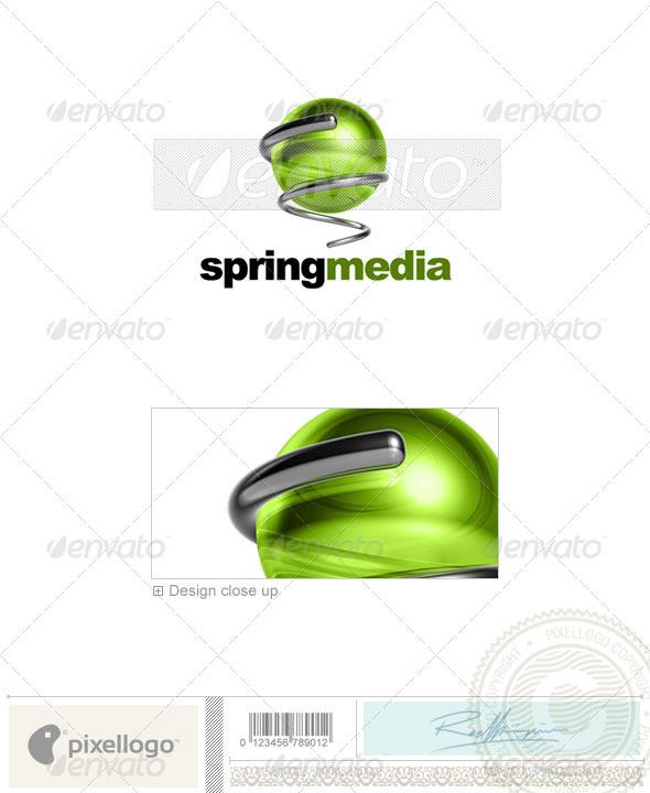 Communications Logo 3D-535