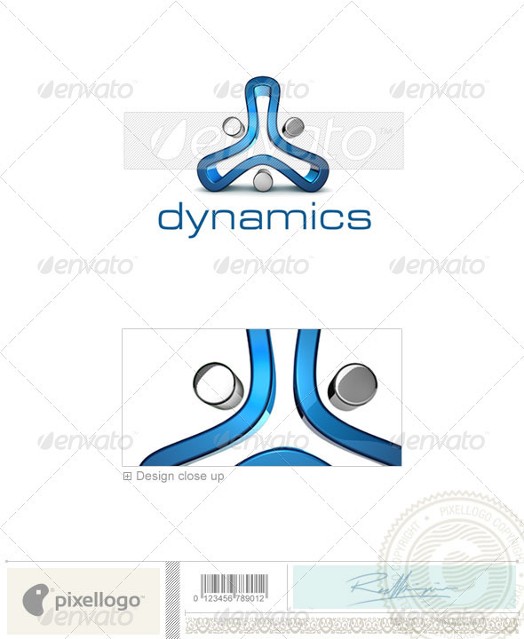 Technology Logo - 3D-682 - 3d Abstract