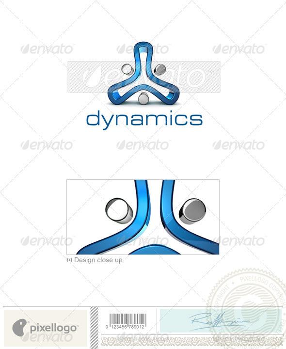 Technology Logo - 3D-682