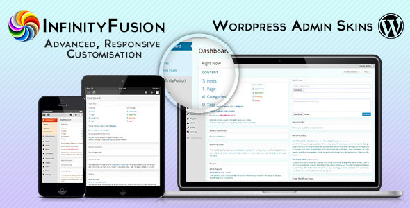 InfinityFusion - respondema Wordpress Admin Feloj - WorldWideScripts.net Item por Vendo