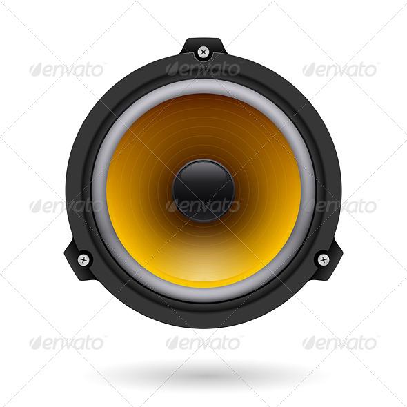 GraphicRiver Realistic Speaker 5100924