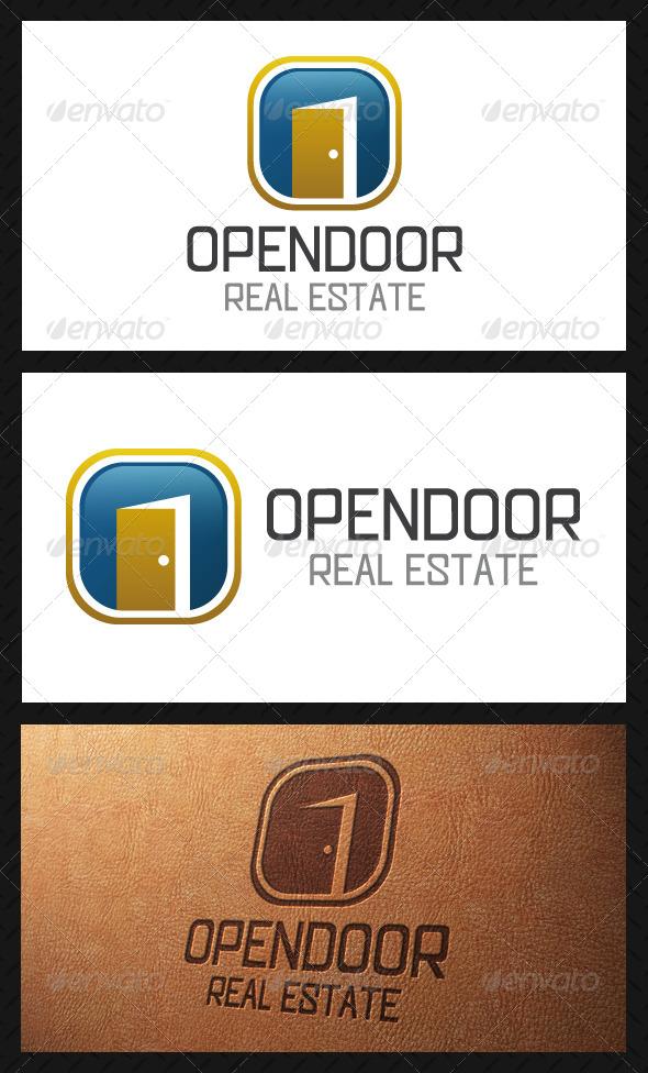 GraphicRiver Open Door Logo Template 5101588