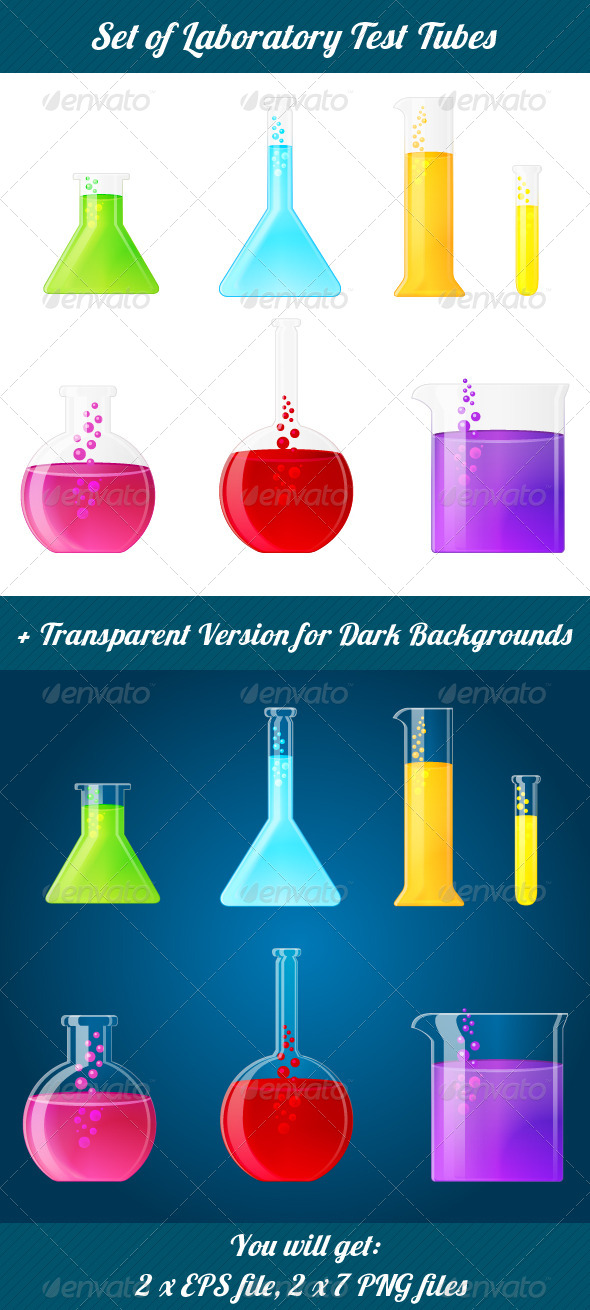 GraphicRiver Test Tubes 5101692