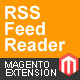 RSS Feed Reader - Magento Extension