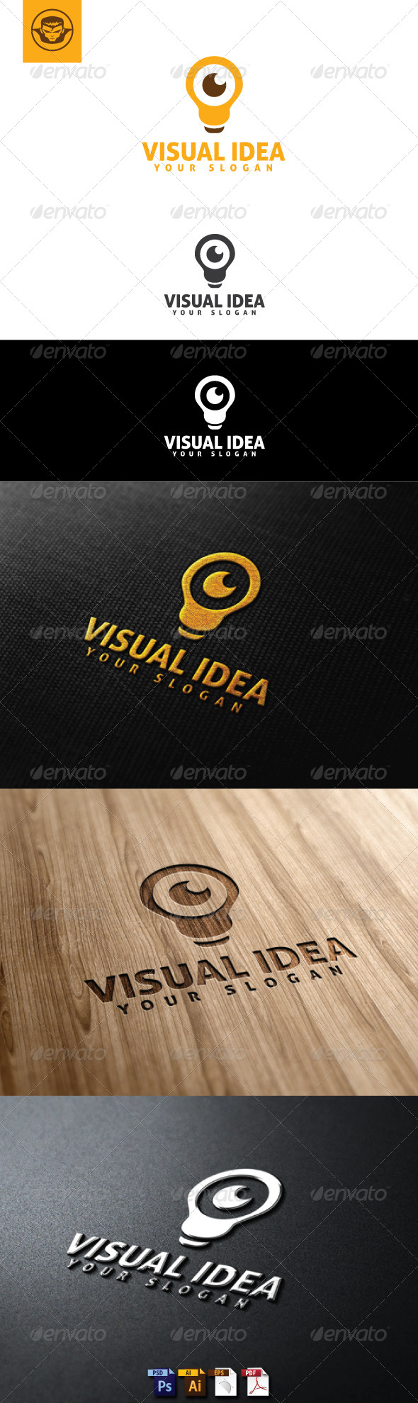 GraphicRiver Visual Idea Logo Template 5103733