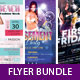 Party Flyer Template Bundle