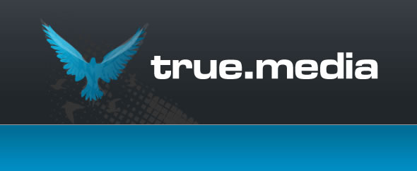 Truemedia logomark