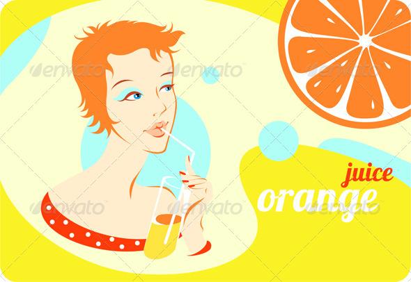 GraphicRiver Orange Juice 5105172
