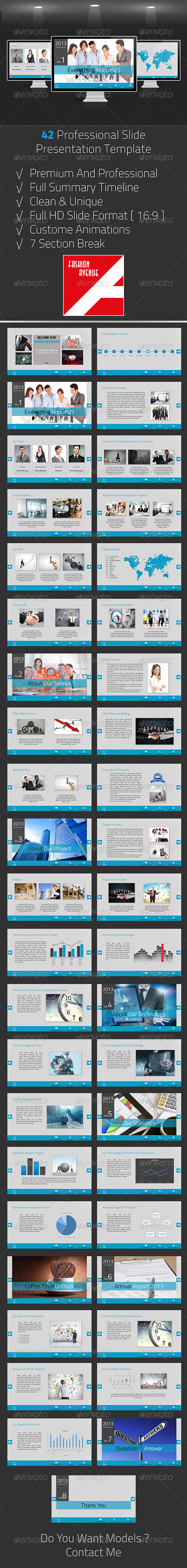 GraphicRiver Premium Business Presentation 5105193