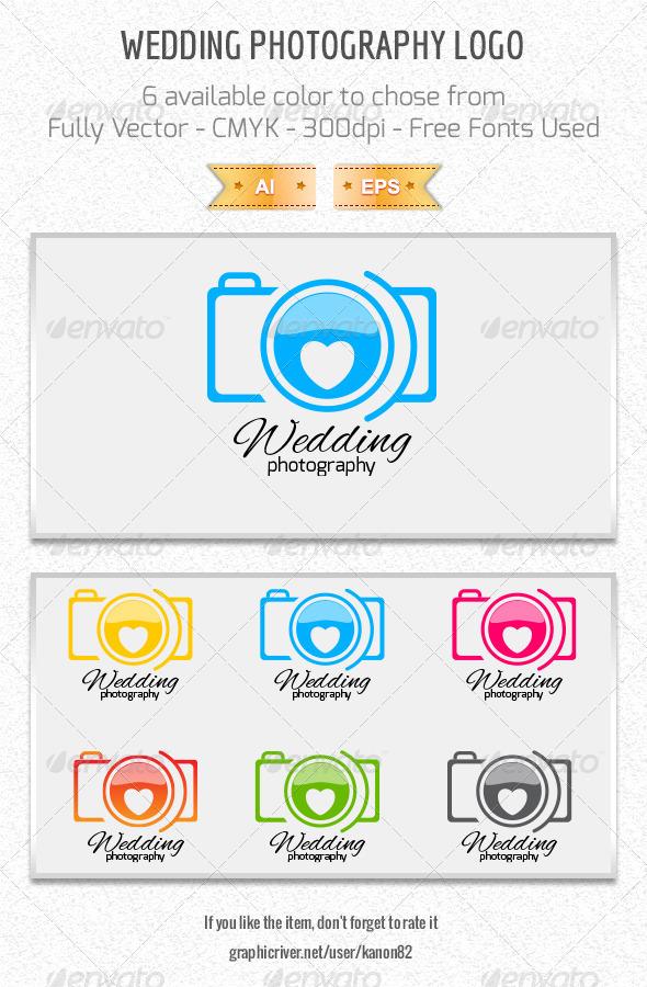 GraphicRiver Wedding Photography Logo 5105584