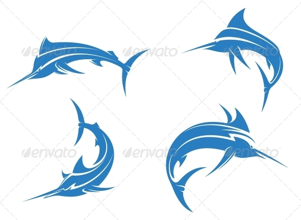 GraphicRiver Big Blue Marlins 5105943