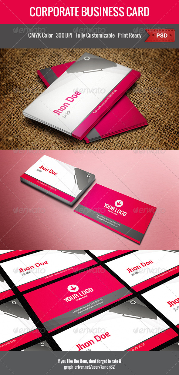GraphicRiver Business Card v1 5034475
