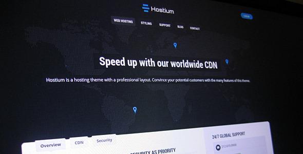 Hostium - Responsive Hosting Theme (Hosting)