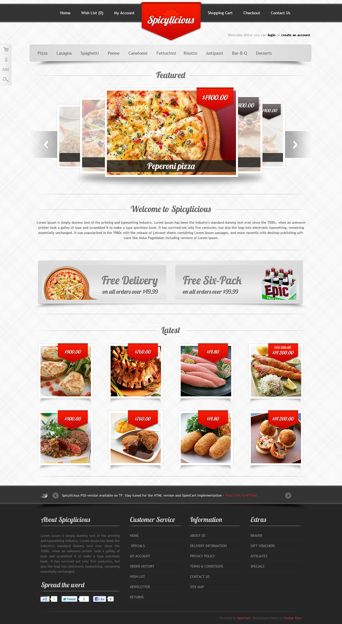Spicylicious food store
