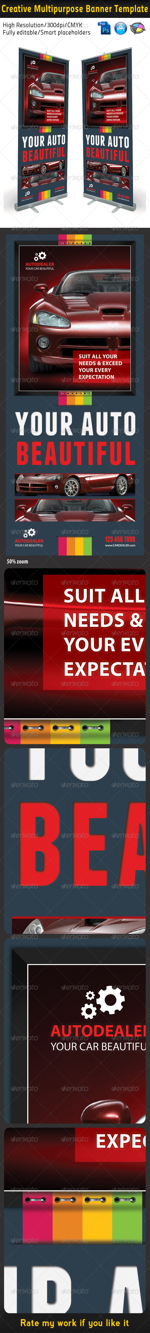 GraphicRiver Creative Multipurpose Banner Template 5106493