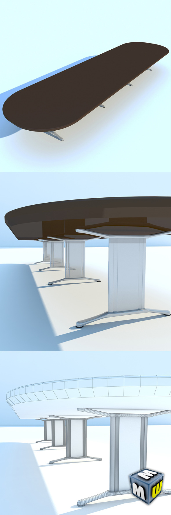 3DOcean Meeting Table MAX 2011 5107021