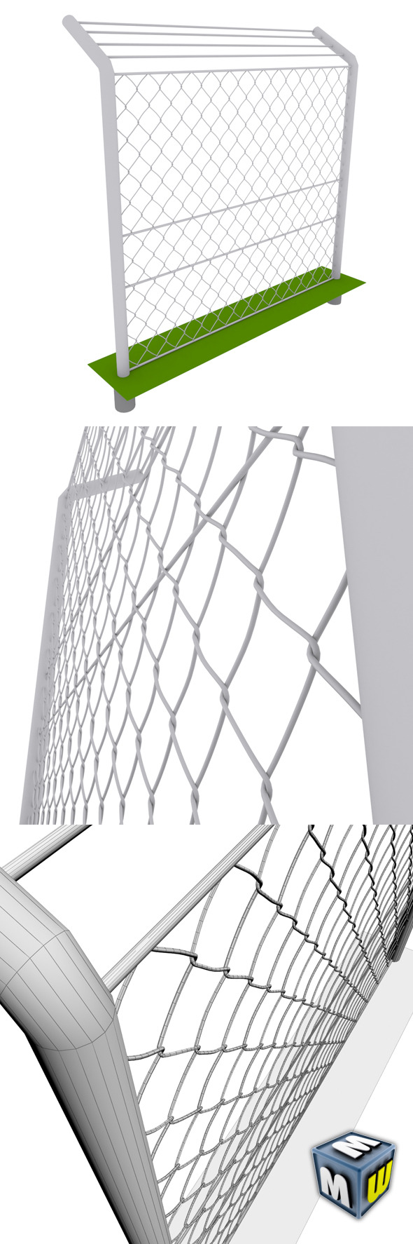 3DOcean Mesh Fence max 2010 5107176