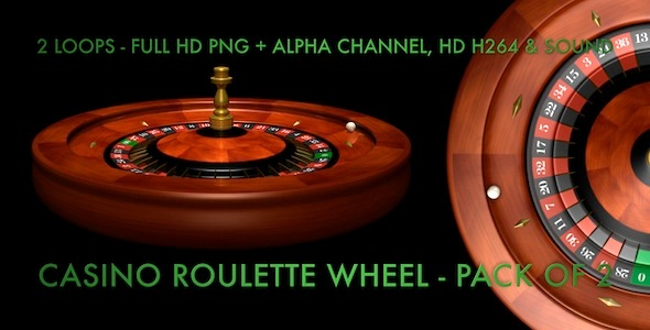 Casino Roulette Wheel Pack Of 2 Loops