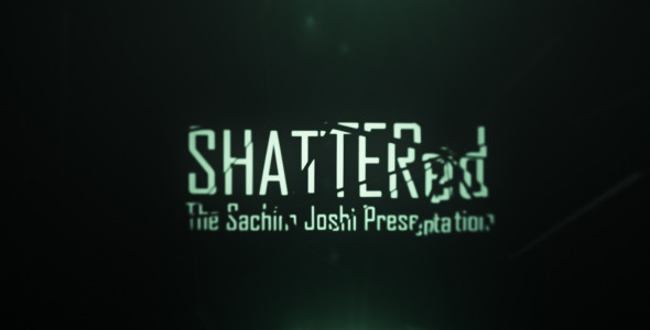 After Effects Project - VideoHive Shattered Cine Titles 526193