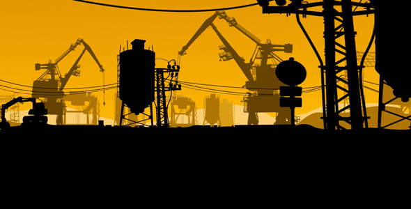 Animated Industrial Illustration