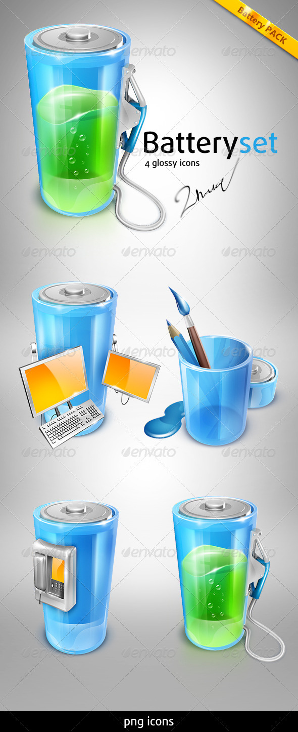 GraphicRiver Battery Pack 526343