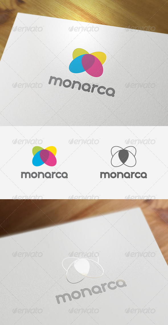 Monarca corporate logo design