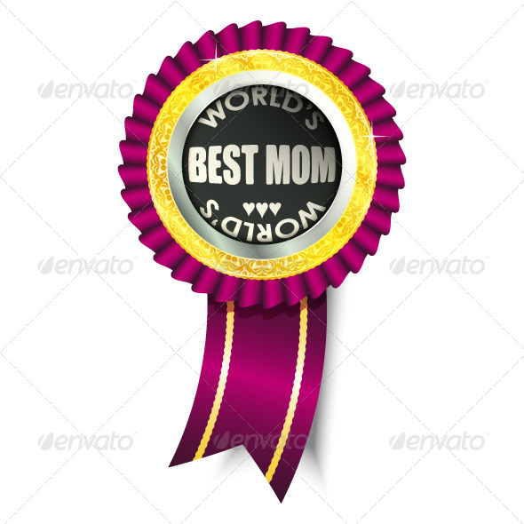 GraphicRiver Best Mom Medal 5107882