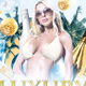 Luxury Summer Party Flyer Temlate - GraphicRiver Item for Sale