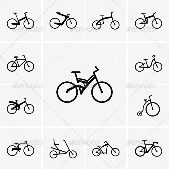 GraphicRiver Bikes 5108288