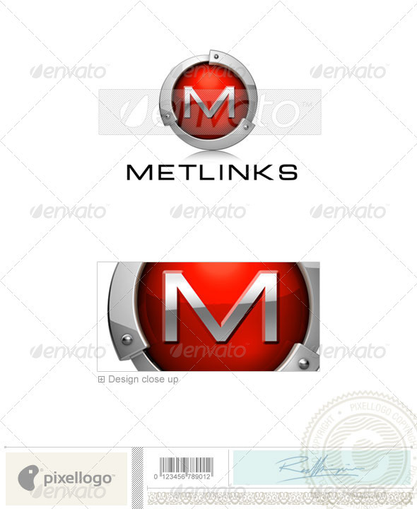GraphicRiver Abstract Logo 3D-552 526438