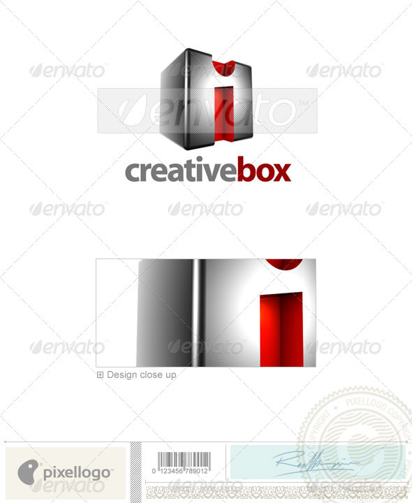 I Logo 3D-554-I