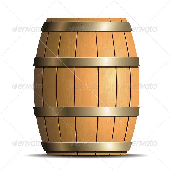 GraphicRiver Wooden Barrel 5091650