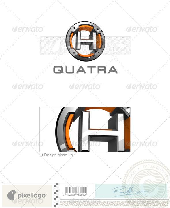 Logo - 3D-494-H ...H Logo 3d