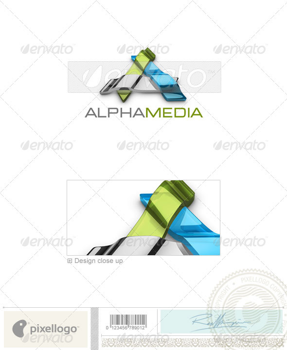 GraphicRiver Technology Logo 3D-536 526478