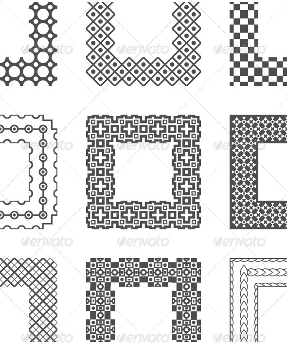 GraphicRiver Universal Different Vector Pattern Brushes 5108351