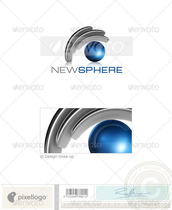 Technology Logo - 3D-541