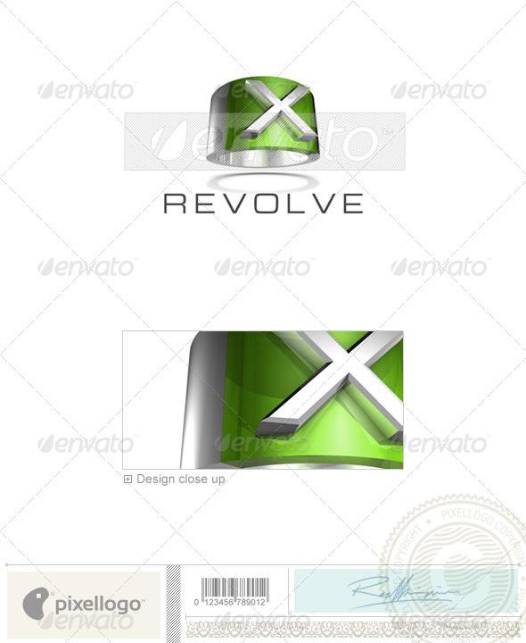 X Logo 3D-547-X
