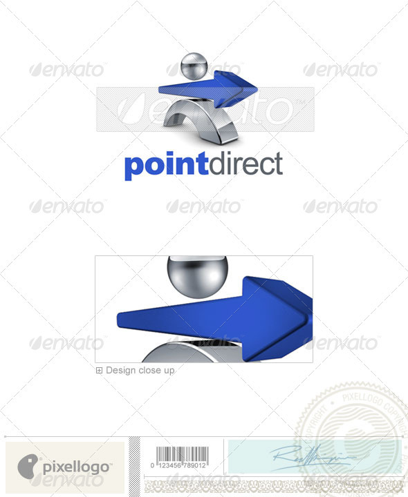 GraphicRiver Business & Finance Logo 3D-643 526536